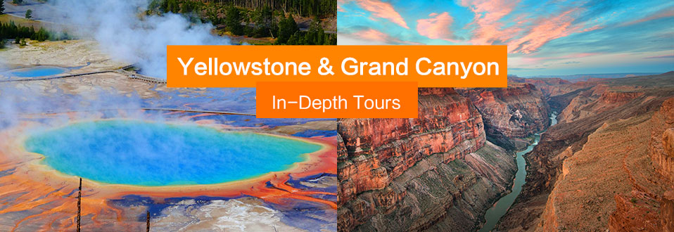 Yellowstone tours Grand canyon tours