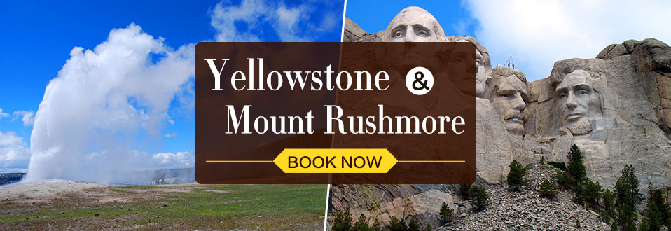Yellowstone tours Mount Rushmore tours
